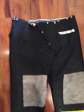 Firefighter Turnout Express Bunker Pants Cairns 44x27 93 Black Vintage Costume