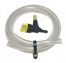 "Fuel Tap & Fuel Pipe Hose, Atco, Qualcast, Suffolk, Webb Mowers, 1/4"",  KT041"