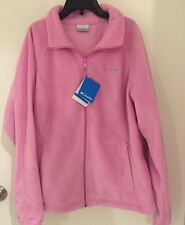 Columbia Mount Cannon Jacket, Full zip, Fleece, pink, size xtra large, NWT