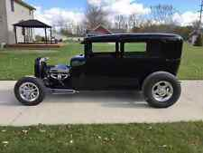 Ford Model A frame, Swept front style, low but drivable, hot rod, rat rod