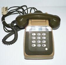Téléphone fixe Vintage PTT - Matra Socotel/So.co.tel S63 - Beige/Marron/Kaki
