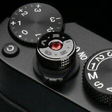 Gariz Soft Release Shutter Button Kamera Auslöser Auslöseknopf | Edelstein Rot