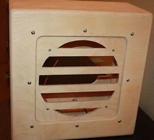 raw cabs vintage style tv front 1x12 pine unloaded speaker cabinet