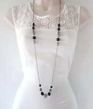Acrylic Chain Beaded Costume Necklaces & Pendants