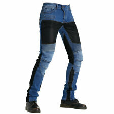 Summer Stretch Motorcycle Riding Pants Men's Slim Riding Jeans