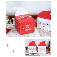 HS 12 Weihnachten Geschenkbox Schachtel Keks Apfel Süßigkeiten Verpackung Beutel