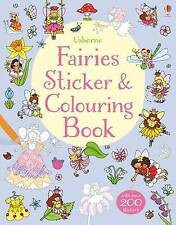 Fairies Sticker & Colouring Book by Jessica Greenwell BRAND NEW (Paperback 2015)