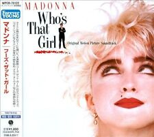 Madonna - Who's That Girl Soundtrack Japan Forever Young CD New / Sealed