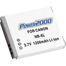 Power2000 NB-6L NB6L Battery for Canon SD3500 IS SD4000 IS SX170 IS SX240