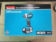 Makita XDT131 LXT 18V Lithium-Ion Brushless Cordless Impact Driver Kit