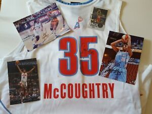 WNBA Atlanta Dream - Angel McCoughtry Autographed shirt/card/pictures