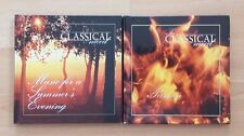 2 x In Classical Mood CD's Passion & Summer's Evening Include Listener's Guides