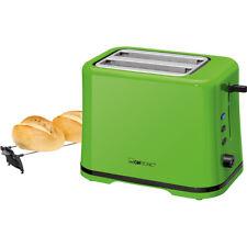 Tostadora pan 2 ranuras calienta panecillos 3 funciones regulador tostado verde