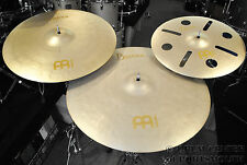 Meinl Byzance Vintage Crash Pack 20 & 22 Crash w/ FREE 16 Trash Crash - DCP Excl
