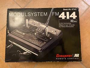 Graupner Modulsystem FM 414 40MHz Sender & Empfänger