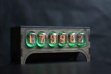 Vintage Nixie Tube IN-12 CLOCK + Thermometer Retro Clock