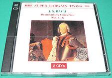 J.S.Bach - Brandenburg Concertos Nos 1-6 2 CD Set NEW