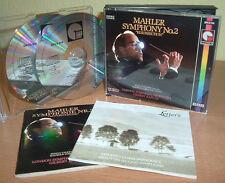 "Mahler-Symphony No. 2 ""Resurrection"" - London SYMPH. orchestra-Gilbert Kaplan"
