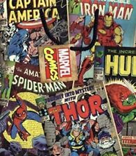 All Occasions Comic Book Heroes Roll Wrapping Paper