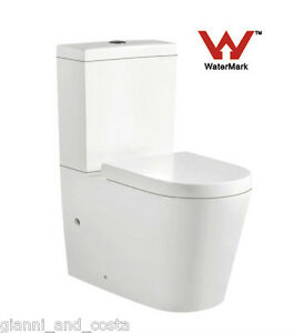 TOILET SUITE CERAMIC BACK TO WALL  SOFT CLOSE UF SEAT - P OR S TRAP - MODEL RAH