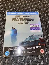 Blade Runner 2049 Blu Ray and 3D Steelbook Special Edition