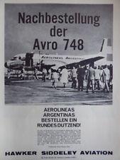 12//1946 PUB HAWKER SIDDELEY AIRCRAFT SEA FURY ORIGINAL AD