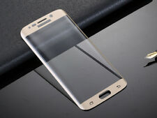 Samsung Galaxy S7 Edge Full Curved Temperato Glass LCD Screen Protection Argento