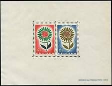 MONACO, BLOC SPECIAL N°6, EUROPA 1964 **, c. 1850 euros. UNE RARETE ! QUALITE TB