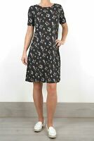 NEW Fat Face Pretty Black Simone Star Floral Dress RRP £46 NOW £22.50!