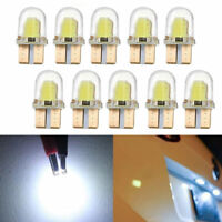 10x Auto Car LED T10 194 168 W5W COB 8SMD CANBUS Silica Bright White Light Bulbs