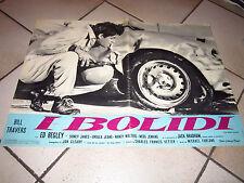 ED BEGLEY  JACK BRABHAM  I BOLIDI  FOTOBUSTA 1 EDIZ. 1961  AUTO CAR RACING RACE