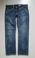 AG-ed Adriano Goldschmied Tomboy Relaxed Crop Jean in 8 Year Vintage - Size 26