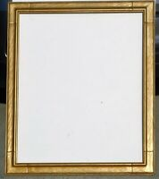 Vintage carved gold leaf frame fits 25 x 30