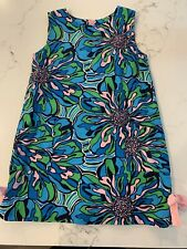 Lilly Pulitzer Floral Shift Dress Size 4