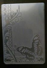 Sizzix Large Embossing Folder BUTTERFLY & LACE fits Cuttlebug 4.5x5.75in
