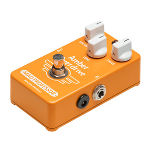 MAD PROFESSOR AMBER OVERDRIVE HAND WIRED HW EFFECT PEDAL