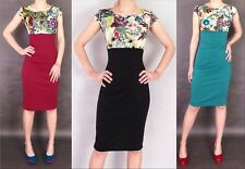Unbranded Boat Neck Midi Floral Dresses for Women