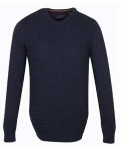 New Mens Guide London Navy Jumper Size S £29.99 or best offer RRP £80