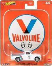 Studebaker Champ Valvoline 1:64 Car culture Real Riders Hot Wheels