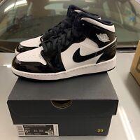 Nike Air Jordan 1 Mid All Star Black White New GS Size 5.5 5.5y Ships ASAP