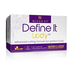 OLIMP Queen Fit - Define It Lady 60 Tablets FAT BURNER FOR WOMEN, SLIMMING PILLS