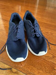 Nike Roshe One - Navy Blue White - Running Shoes Size 10 - As Is. NO BOX!!!