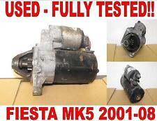FORD FIESTA V 1.3 BOSCH Motor De Arranque 2001-2008 COMPROBADO 2 Tuerca