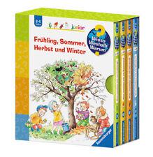 Wieso Weshalb Warum Junior Jahreszeiten im Schuber 4 Bücher 2-4 Jahre + BONUS