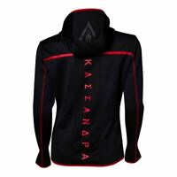 ASSASSINS CREED ODYSSEY TECHNICAL DARK HOODED ZIP HOODIE BLACK/RED XX-LARGE