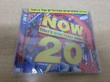 NOW THAT'S WHAT CALL MUSIC 20 ISRAELi CD 2014 INDILA LANA DEL REY COLDPLAY IGGY