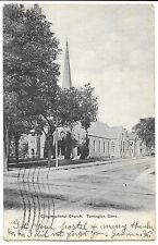 Congregational Church, Torrington Conn PPC 1905 PMK by American News Co