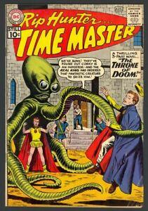 Rip Hunter Time Master #3 - Throne Of Doom - Andru & Esposito Art - DC 1961 FN