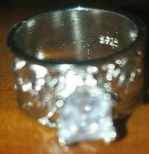 ring size 9 sterling silver wedding ring
