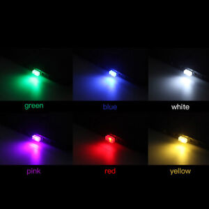 Flexible Mini USB LED Light Colorful Lamp For Car Atmosphere Lamp Accessories